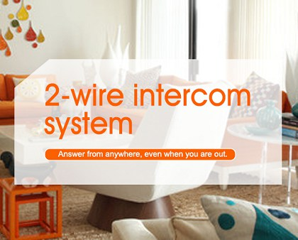 Upgrade / Retrofit your old intercom to IP video system using existing cabling & save on installation costs.