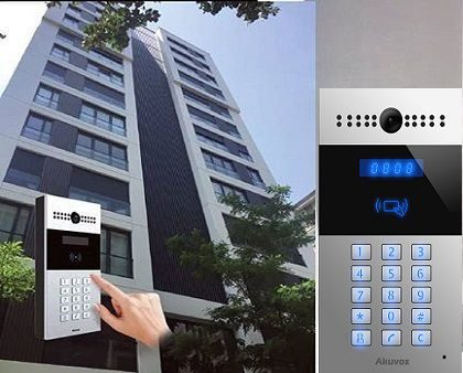 Intercom, Keyless Entry, IP CCTV for Apartments & Gated Communities
