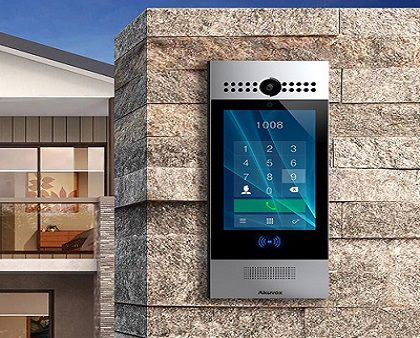 Security Intercom, Keyless Entry and IP CCTV Solution for Single Houses and Multi Unit dwellings