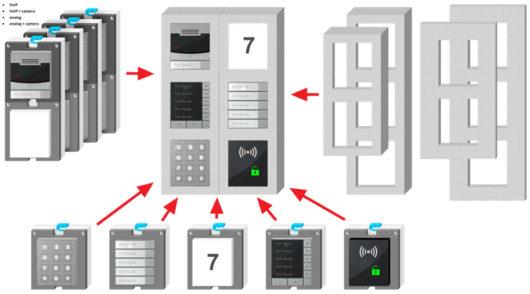 2N IP Verso Accessories