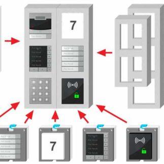 2N IP Verso Mounting Frames