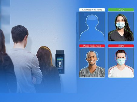 Window Intercoms & Temperature Scan Systems enhance staff safety during Pandemic.